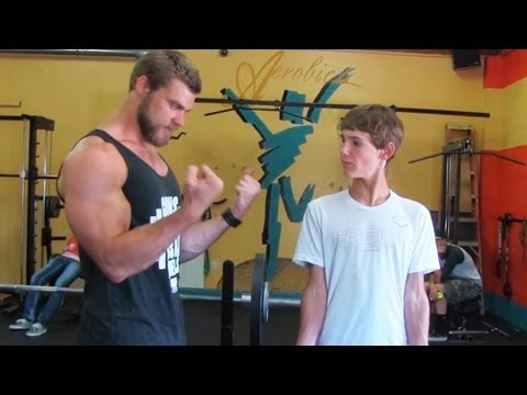 Teen Beginners Bodybuilding Training – Upper Body  – Chest, Arms, Shoulders