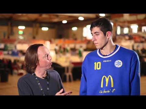 ANGT L'Hospitalet interview: Yovel Zoosman, Maccabi Tel Aviv