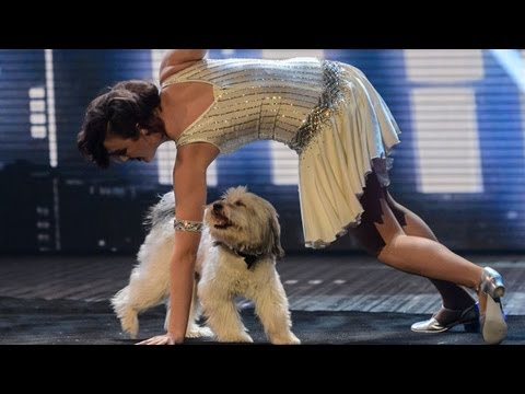 Ashleigh and Pudsey – Britain's Got Talent 2012 Live Semi Final – UK version