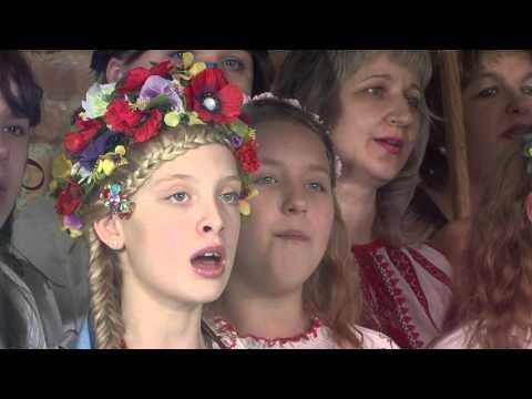 """""""Різдвяний вертеп"""". Учні Рівненської ЗОШ №18"""