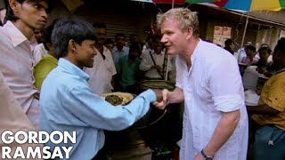 Gordon Ramsay Cooks Indian Street Food For Locals | Gordon's Great Escape by Gordon Ramsay