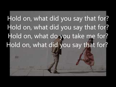 hold on lyrics -