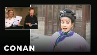 Video Conan & Andy Dub Over China's Most Popular Soap Opera - CONAN on TBS MP3, 3GP, MP4, WEBM, AVI, FLV Oktober 2018