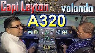 Video CAPI LEYTON VOLANDO A320 - Academia Antioqueña de Aviación - Simulador Airbus. (#84) MP3, 3GP, MP4, WEBM, AVI, FLV Juni 2018