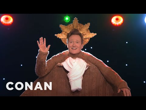 Conan O Brien s 2016 Staff Holiday Sweater