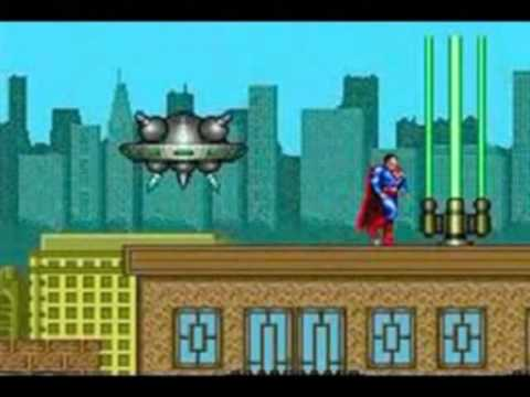 urinatingtree - Urinating Tree's Superman review for the sega Mega Drive / Genesis (part one)