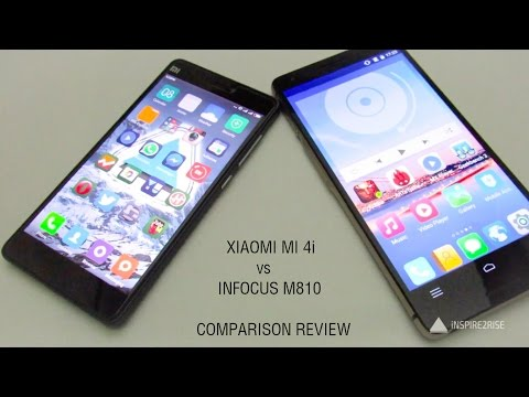 Xiaomi Mi 4i vs Infocus M810 review ( benchmarks + gaming )