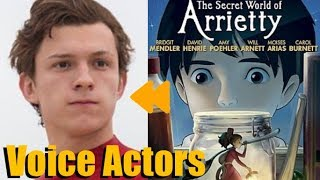"""""""The Secret World of Arrietty"""" Voice Actors and Characters"""