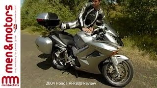 3. 2004 Honda VFR800 Review