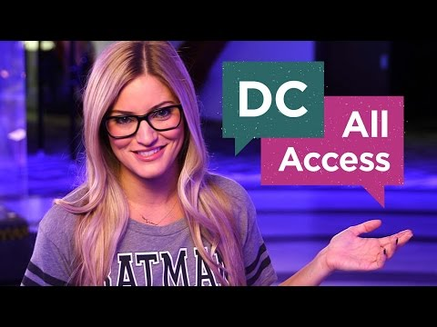 access - iJustine is co-hosting DC All Access this week, but you can co-host it all next year! Watch the clip and be sure to click this link for more information: http://www.dccomics.com/dchostsearch...