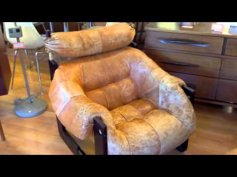 Percival Lafer Lounge Chairs & Ottoman for sale
