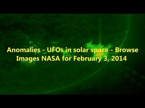 Anomalies – UFOs in solar space – Browse Images NASA for February 3, 2014