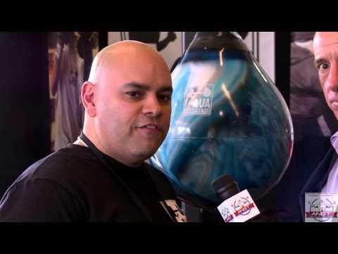 Eddie Rivera explains benefits of using the AQUA Punching Bag