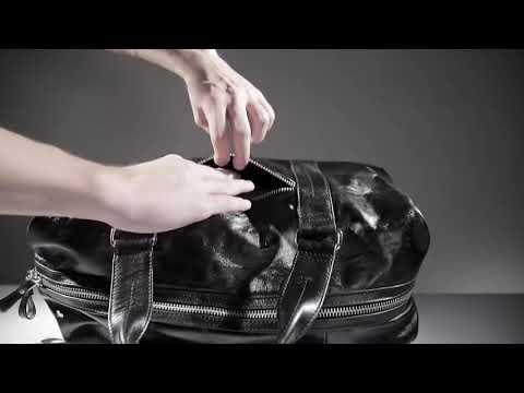 Дорожная сумка BRIALDI Newcastle relief black