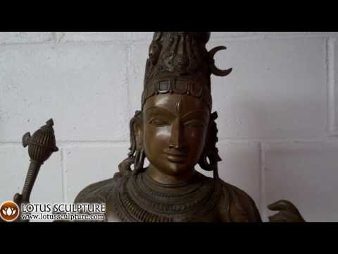 Bronze Androgynous Shiva as Ardhanari 42