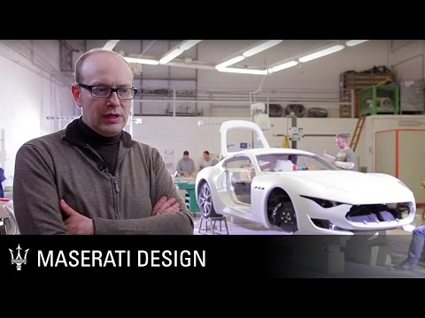 Maserati Alfieri Concept Car – the design process