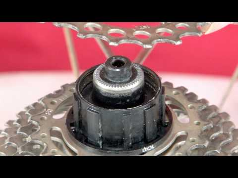 Cassette Gear Removal and Installation (видео)