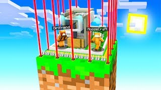 Minecraft Skyblock With My GIRLFRIEND, But We Built IMPOSSIBLE HOUSE On ONE BLOCK! #5