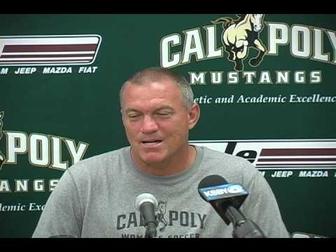 Cal Poly Women's Soccer Head Coach Alex Crozier