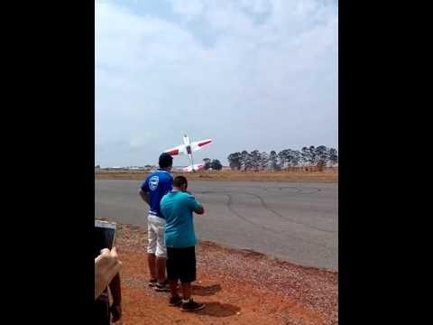 Encontro de aeromodelos em Cristalina Go