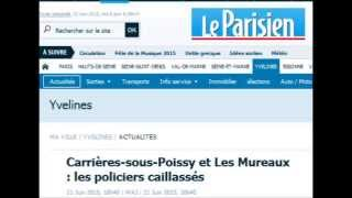 Carrieres-sous-Poissy France  city images : Carrières-sous-Poissy et Les Mureaux : les policiers caillassés par des « trublions »