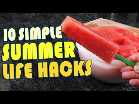 10 Summer Life Hacks To Try Right Now (видео)