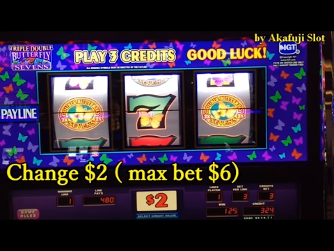 ★BIG WIN LIVE★Triple Double Butterfly Slot Denom Max Bet at Cosmopolitan, Las Vegas