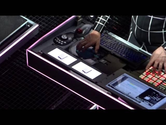 Kraftwerk Pocket Calculator Dentaku Amsterdam Paradiso 2015