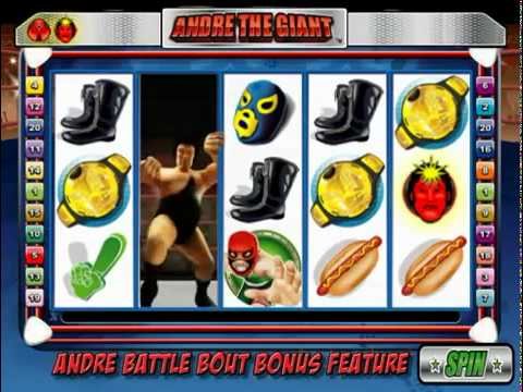 Andre The Giant online slot game