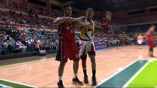 Manuel - Ross scuffle | PBA Governors' Cup 2018