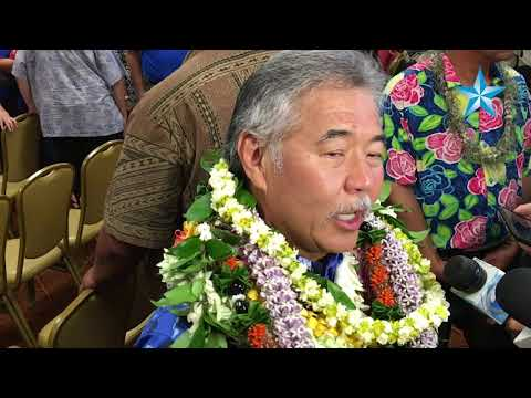 Hawaii Gov. David Ige reacts to results of primary election