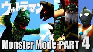 ULTRAMAN PS2 GAME - Monster Mode Part 4 - RAGON ( 1080P HD 1080P  )