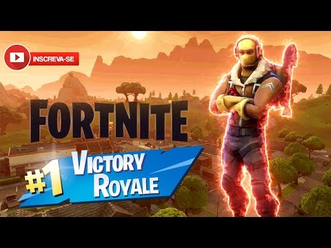 Fortnite - COM INSCRITOS AO VIVO! - #fortnite #jogos #nando #xbox #ps4 #pc #games #nimotv