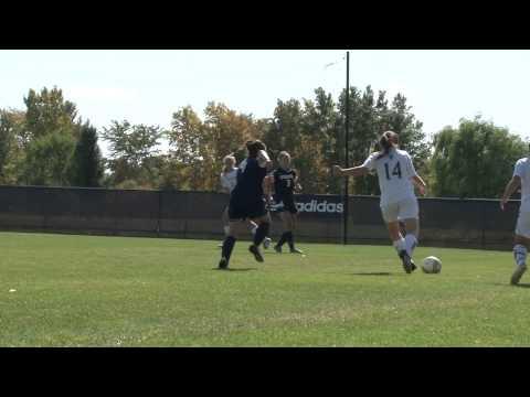 Alma College Women's Soccer - September 29, 2012