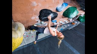 Crimping Slopers - Scary Falls - Matilda Söderlund - 1 Year In The Making by Eric Karlsson Bouldering