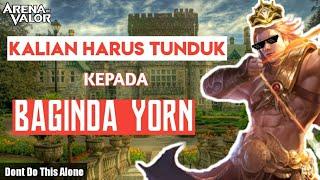 TROLL BUILD SANG KAISAR BAGINDA YORN - Yorn Troll Gameplay Arena Of Valor