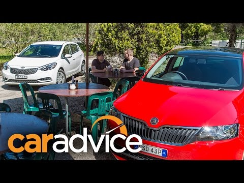 Skoda rapid vs kia cerato фото