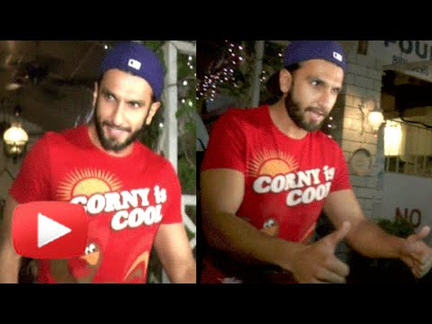 SPOTTED : Ranveer Singh Sports A SUPERCOOL Dude Lo