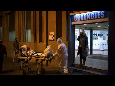 COVID-19: «Ρεκόρ» θανάτων στην Ισπανία – 832 νεκροί σε 24 ώρες