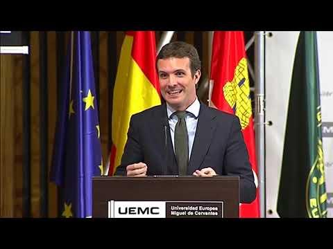 """Pablo Casado interviene en el Premio al """"Mejor Com..."""