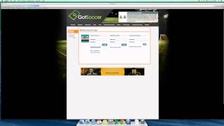 How to login to your GotSoccer Team Account.