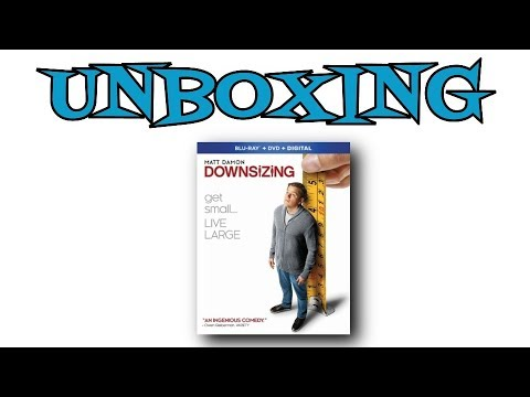 Downsizing Blu Ray Unboxing