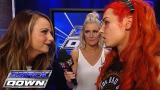 Nonton Emma Unterbricht Becky Lynch  Smackdown  7  April 2016 Film Subtitle Indonesia Streaming Movie Download