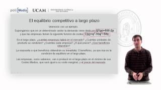 Microeconomía II - La Competencia Perfecta (12) - Alfonso Rosa