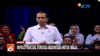 Video Visi Presiden Jokowi Infrastruktur Fondasi Kuat Negara   Liputan 6 Siang MP3, 3GP, MP4, WEBM, AVI, FLV April 2019