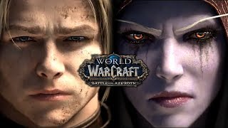 World of Warcraft: Battle for Azeroth - All Cinematics & Cutscenes in Chronological Order(AT LAUNCH)