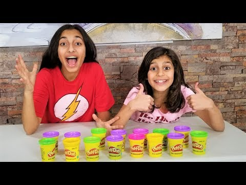Play doh - DON'T CHOOSE THE WRONG PLAY-DOH SLIME CHALLENGE!