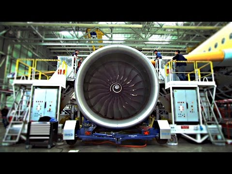 How A Commercial Airplane Is Made