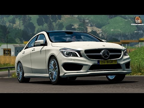 Mercedes Benz CLA v1.5 rework by Allan (Motorway Roads)