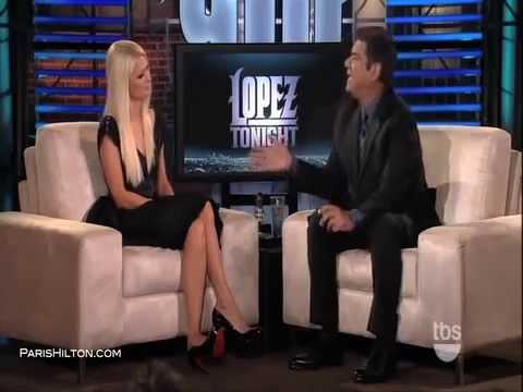 Paris Hilton on Lopez Tonight